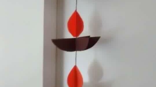 Hanging Paper Diya