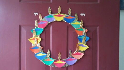 Diwali wreath