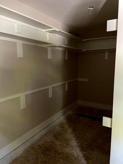 Owner Suite Closet
