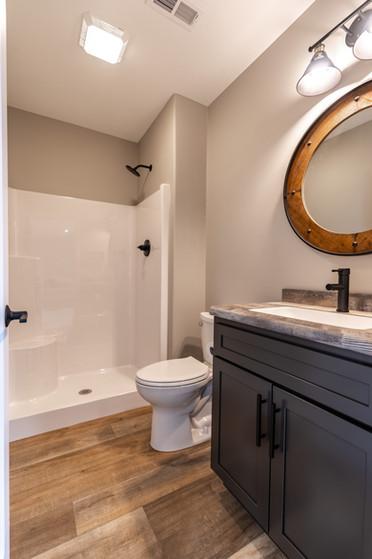 Bathroom in Lower Level