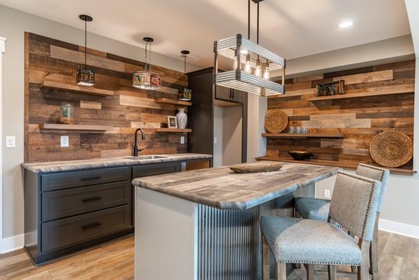 Warming Kitchen in Lower Level