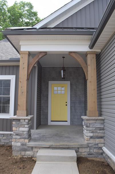 home entryway custom house