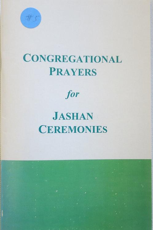 Congregational Prayers For Jashan Ceremonies