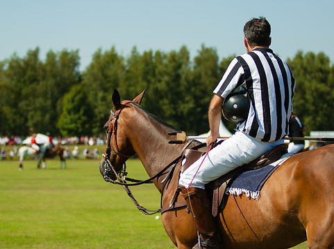 Polo Umpire in Chukka | Domare Hästpolo | Falsterbo Polo Club
