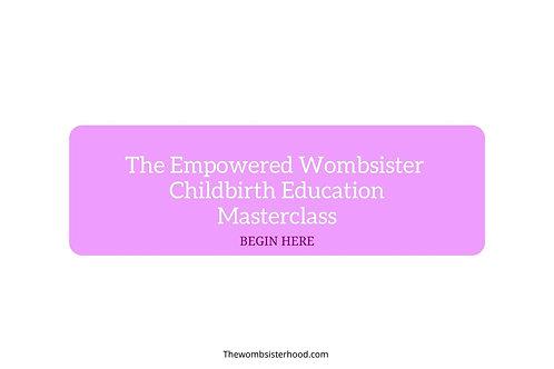 (Pre-enroll) Online Childbirth Education Program