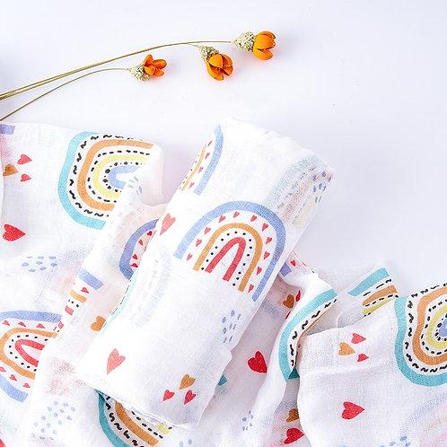 Kangobaby Muslin Bamboo Gauze Baby Blanket