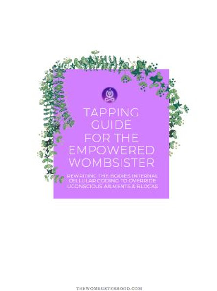 EFT Tapping Guide for The Empowered Wombsister