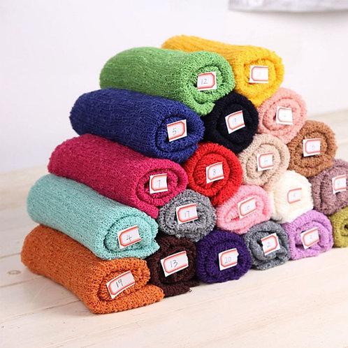 Newborn Photography Knit Stretch Wraps