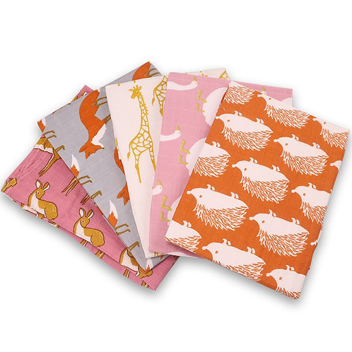 Organic Cotton Baby Burp Cloth