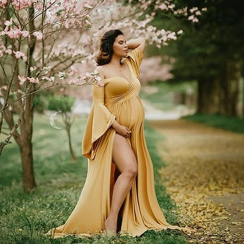 High Quality Wombsister Maternity Gown
