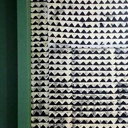 papierpeint triangle noir