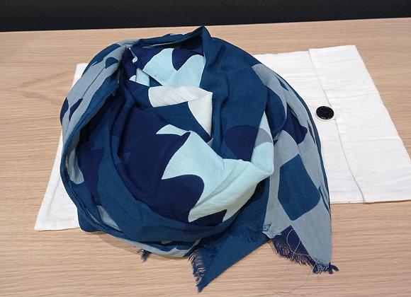 Foulard Maya bleu