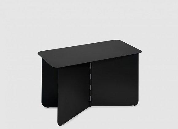 Table basse noir en métal . Large