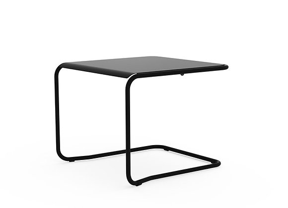 Table basse carrée en métal