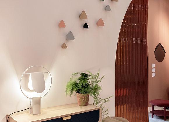 Patère triangulaire en bois