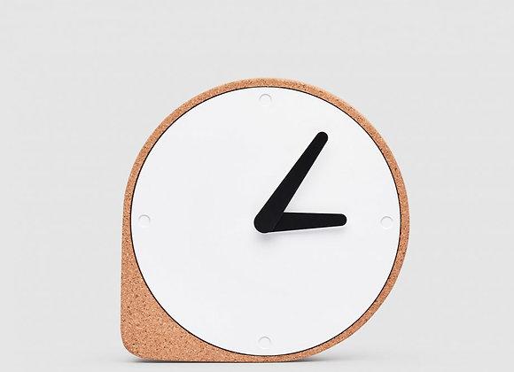 Horloge de table en liège