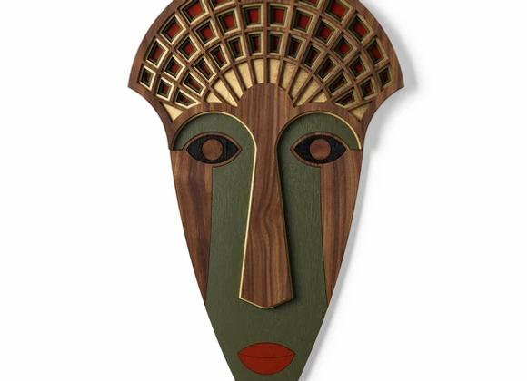 Masque Mademoiselle vert