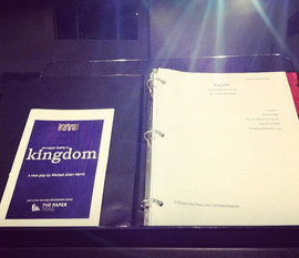 Stage reading of Kingdom by Michael Alle