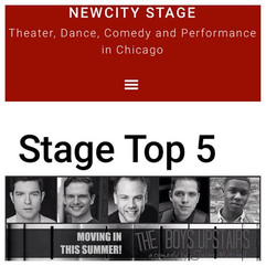 We are #newcitystage Top 5 shows in Chic