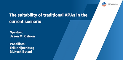 The suitability of traditional APAs in t