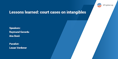 Lessons learned court cases on intangibl