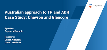 Australian approach to TP and ADR Case S