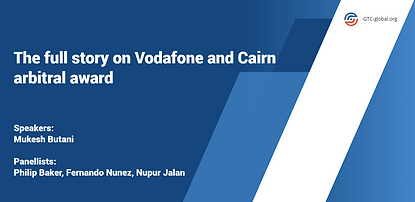 The full story on Vodafone and Cairn arb