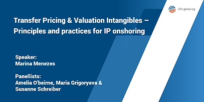 Transfer pricing & valuation intangibles