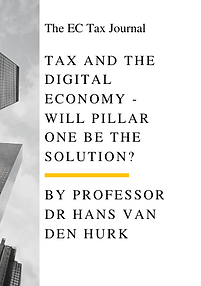 tax and the digital economy - will pilla