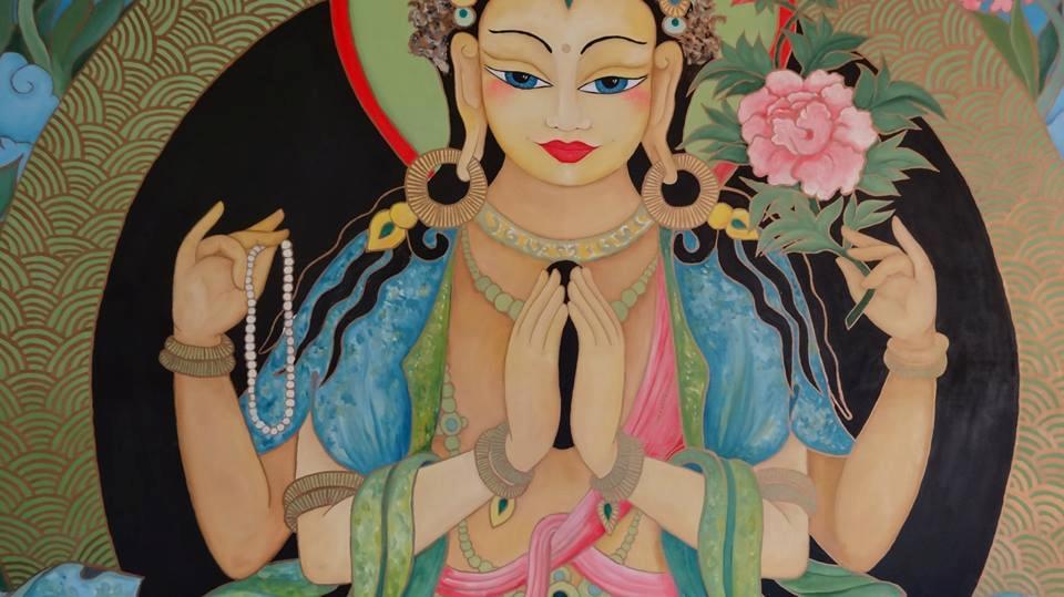Tara Devasree, meditación