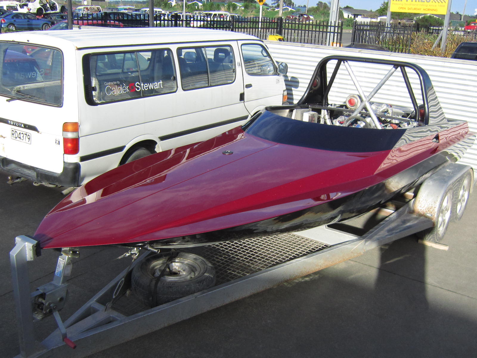 Jagged Edge Racing Boat