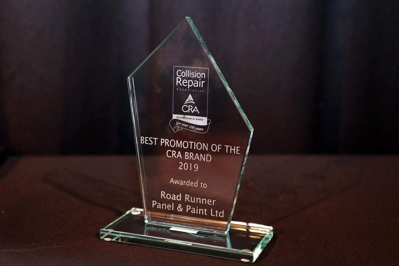 Napier CRA Brand Award