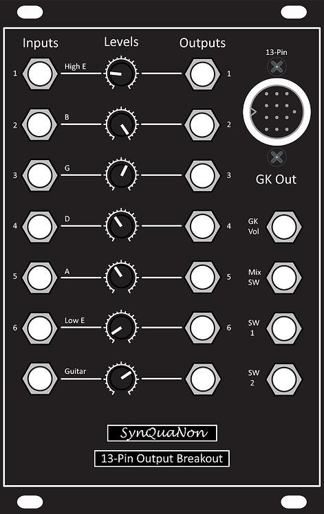 13-Pin Output Breakout