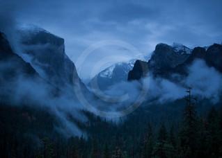 Blue Hour Valley View, Yosemite