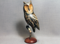 Owl (Great Horned) Mini on Perch