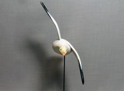 Snow Goose Flyer Mini - Museum Stand