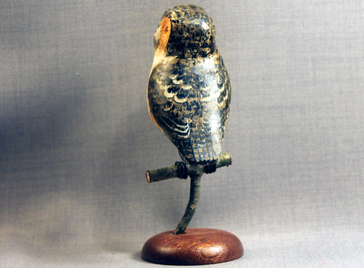 Owl (Sawhett) Mini on Perch