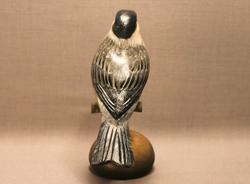 Chickadee on Perch