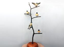 Chickadee Bird Tree