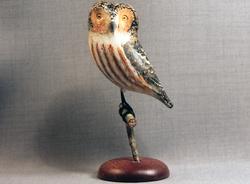 Owl (Sawhett) Mini on Perch