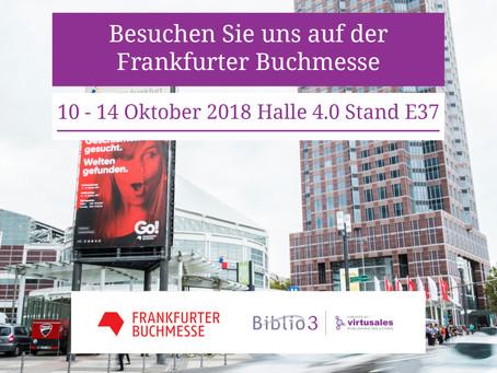 Biblio3 auf der Frankfurter Buchmesse 2018