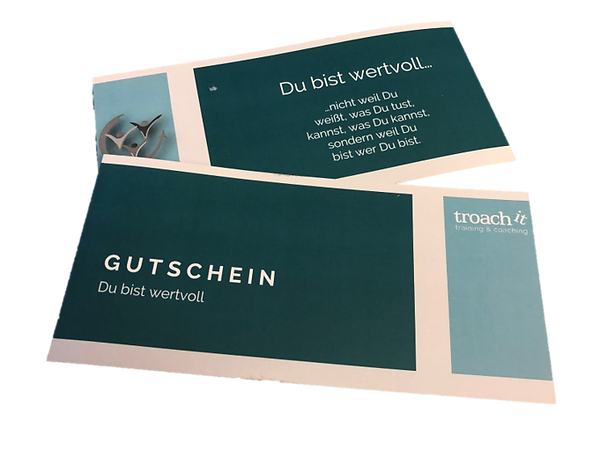 troach it Gutschein