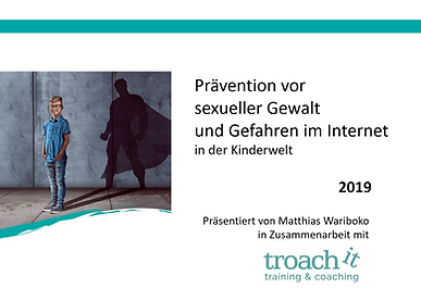 Prävention sexueller Gewalt bei troach it