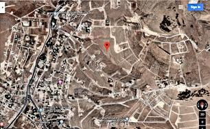 اراضي 500 م  للبيع في اجمل مناطق بيرين حوض البلد