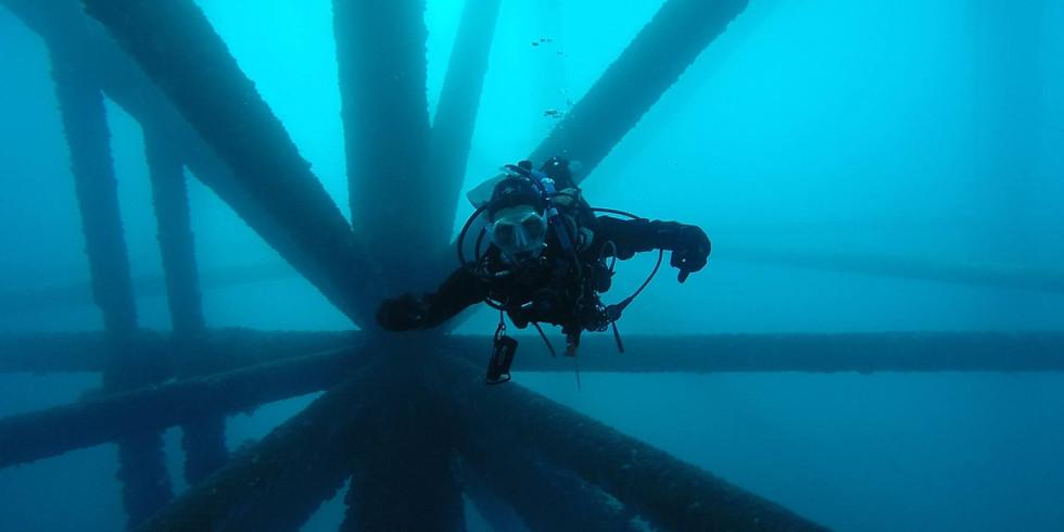 Oil Rig Dive  -  Monday - Jan. 21 - 3 Tank Dive