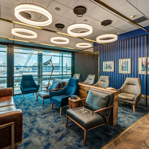 Standard Bank, Airport Library Lounge, Johannesburg, South Africa
