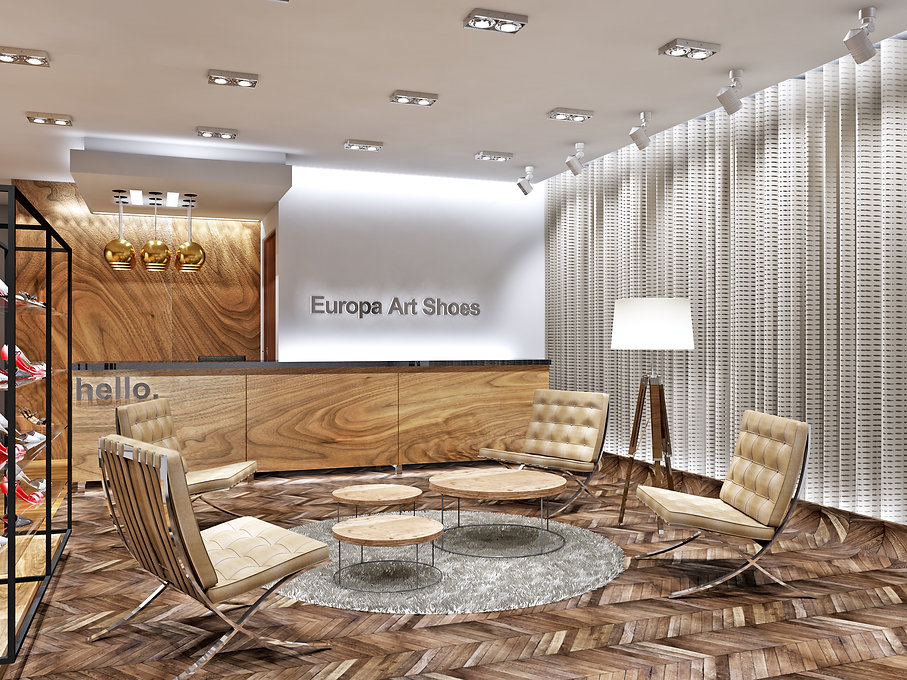 Europa Art Shoes workspace - Design Part
