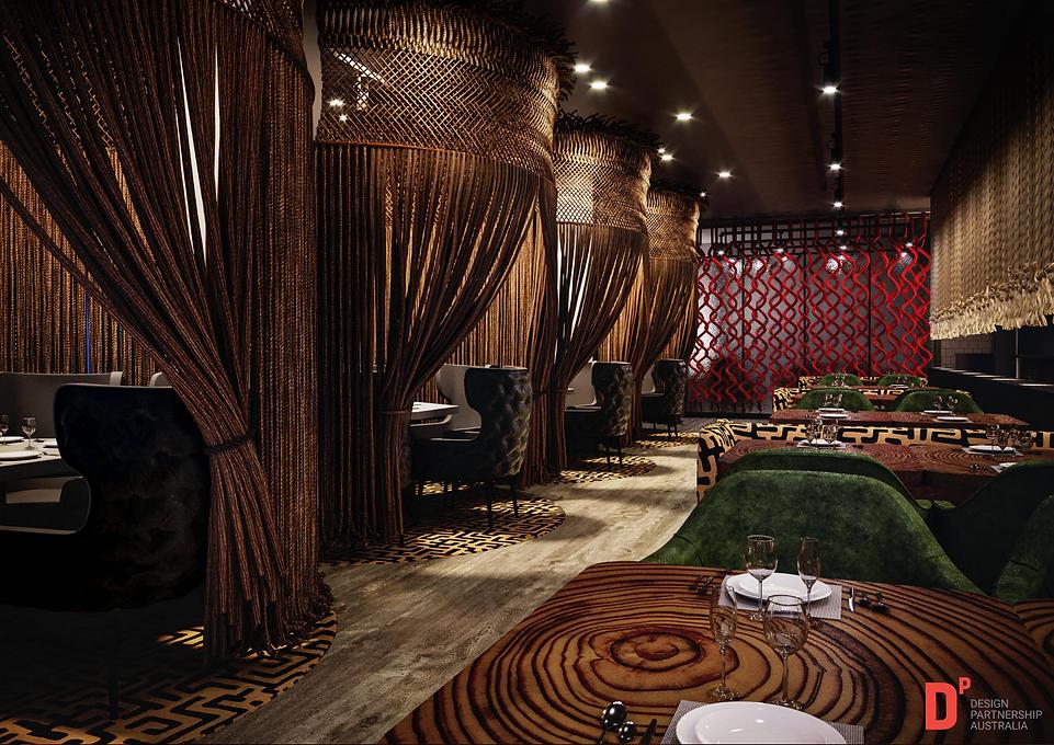 Restaurant & Bar Design - Meat and Wine Adelaide, Design Partnership Australia
