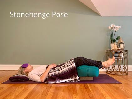 Restorative Practice: Stonehenge Pose