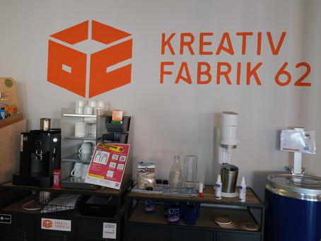 Virtuelle Tour durch die Kreativfabrik 62